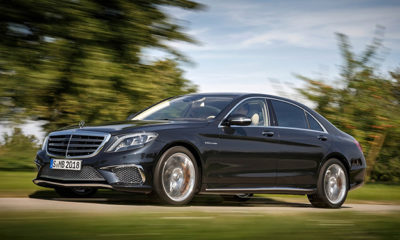 Mercedes-Benz S65 AMG front view