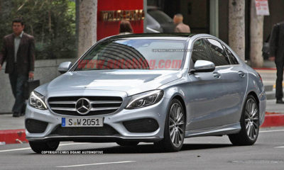 New Mercedes-Benz C-Class front picture