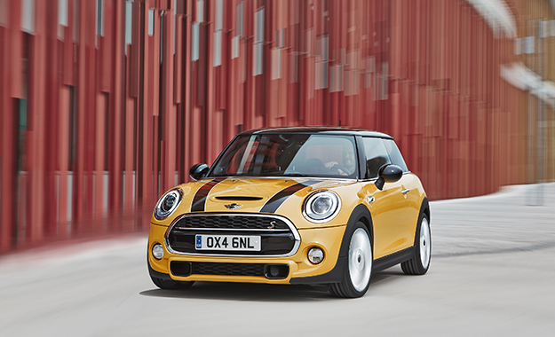 The new Mini has been officially unveiled