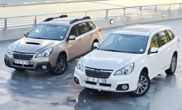 Subaru Outback refreshed for 2014