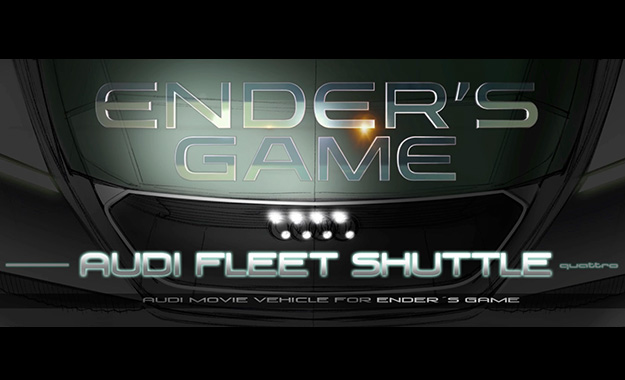 Audi Fleet Shuttle for Ender's Game
