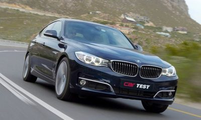 BMW 320d GT Steptronic front view