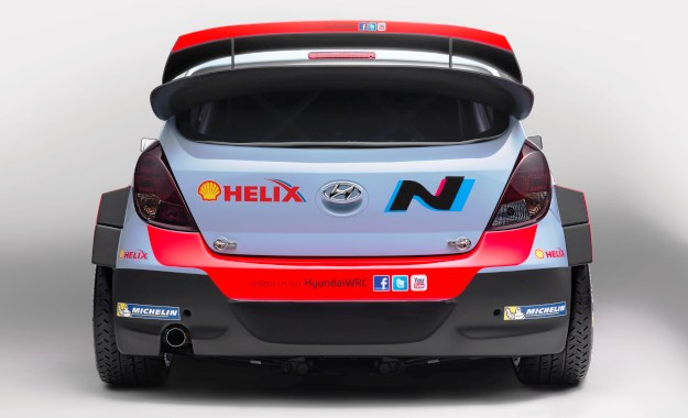 Hyundai WRC car carries the N logo