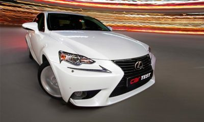 LEXUS IS350 EX front view