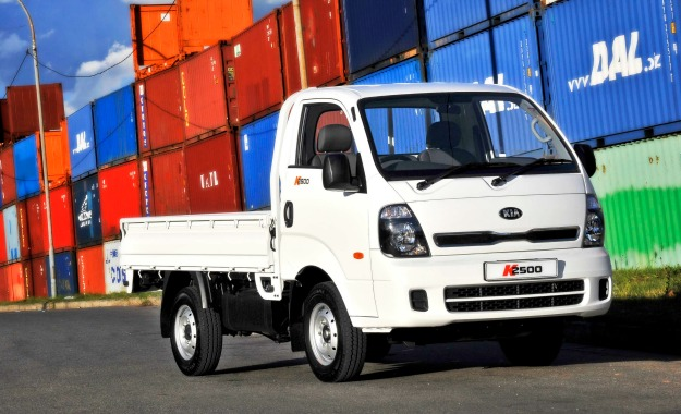 Kia introduces new K2500 workhorse.