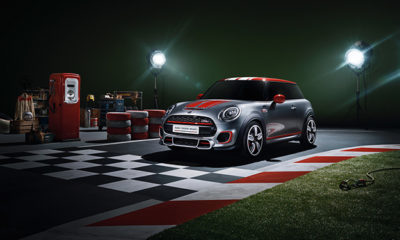 Mini John Cooper Works front three-quarter