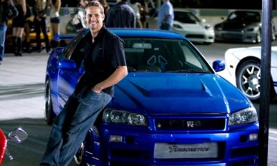 Paul Walker seen in the very first Fast and Furious movie