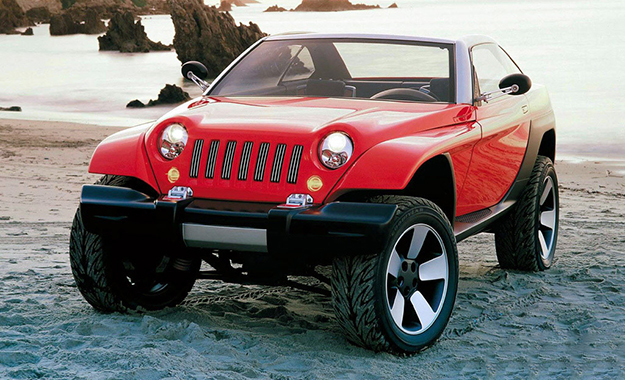 Jeepster could draw inspiration from the 1998 Jeepster Concept