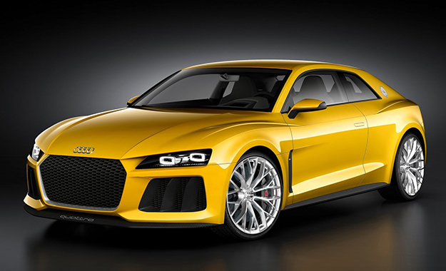 Audi plans to bring the Quattro Sport Concept into series production for 2015