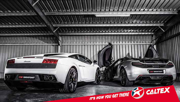 PERFORMANCE SHOOTOUT 2014: Drag race - McLaren 12C Spider vs Lamborghini Gallardo LP550-2.
