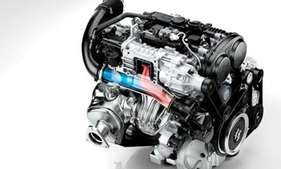 Volvo's T6 turbopetrol employs both super- and turbocharging to up outputs of the 2,0-litre to 225 kW and 400 N.m.