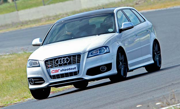 Audi A3 Sportsback front view