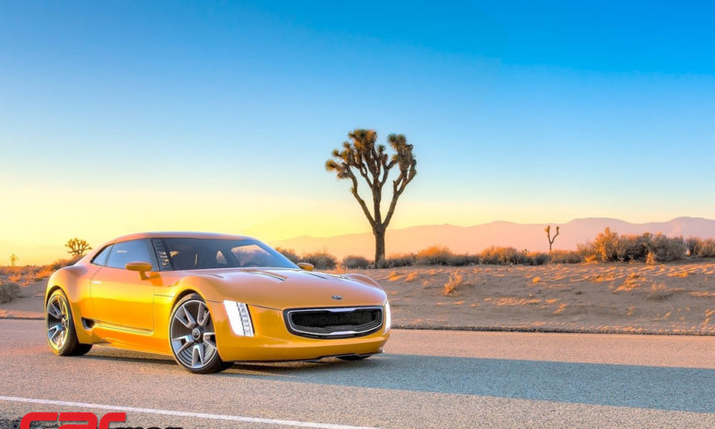 Kia GT4 Stinger Concept Wallpaper