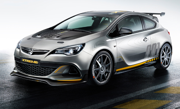 Opel Astra OPC Extreme front