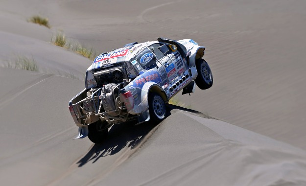 SA Ford pair crash out of Dakar Rally 2014