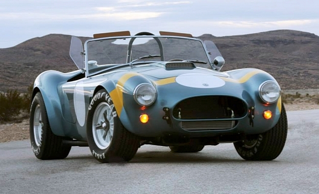 Shelby 50th Anniversary FIA Cobra front