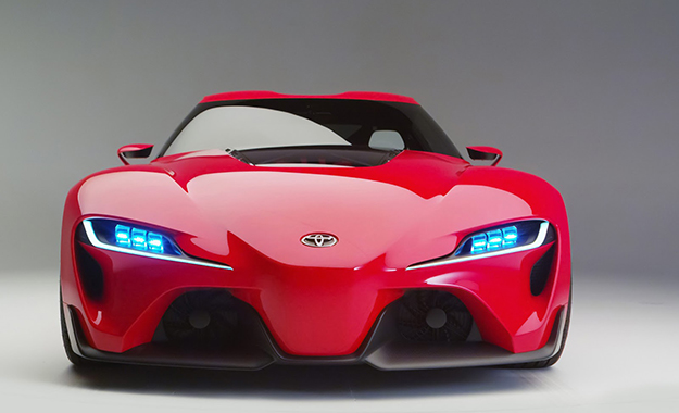 Toyota Ft 1 Concept Unveiled In Detroit