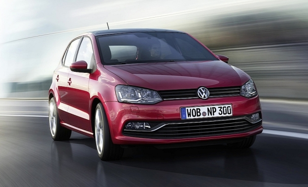 VW Polo facelift front