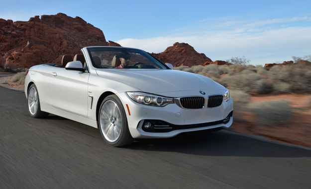 BMW 435i Convertible front