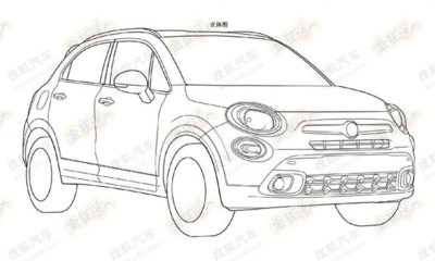 the Fiat 500X has been leaked online