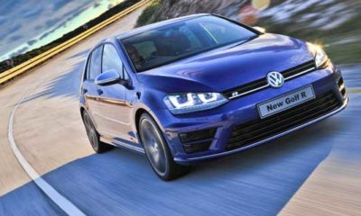 Volkswagen Golf R front view