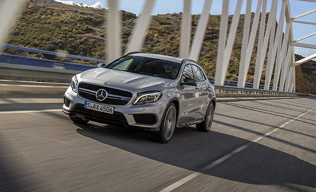 The GLA 45 AMG is the fifth addition to Mercedes' SUV line-up