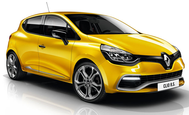 2014 Renault Clio RS EDC front