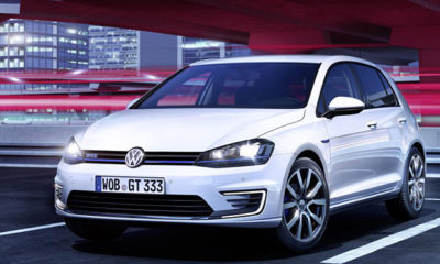 VW Golf GTE front