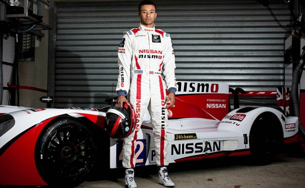 Jann Mardenborough has signed to compete in GP3 in 2014.