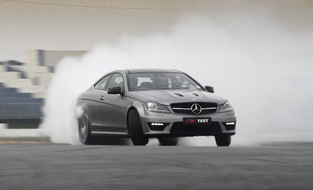 Mercedes-Benz C63 AMG Coupé Edition 507 track test