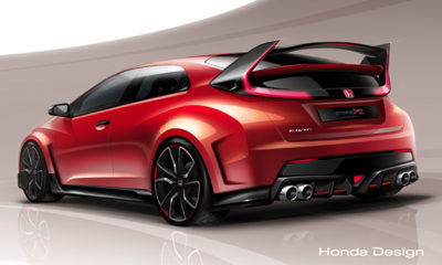 The 2015 Honda Civic Type R will be revealed at the Geneva Motor Show next month