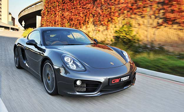 The Porsche Cayman S is the 2014 SA Car of the Year