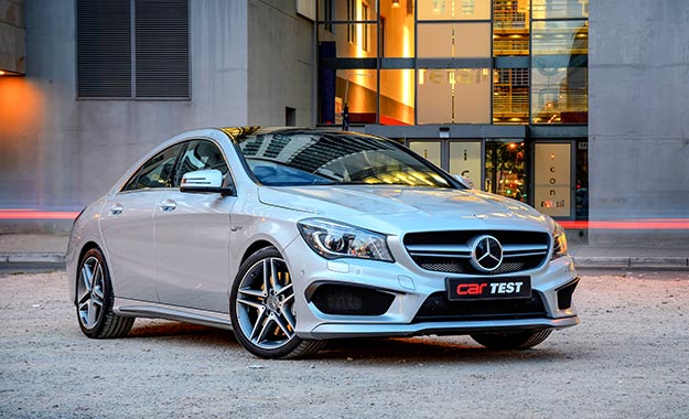 Mercedes-Benz CLA45 AMG 4matic front view