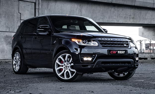 Range Rover Sport SC V8 HSE Dynamic front view