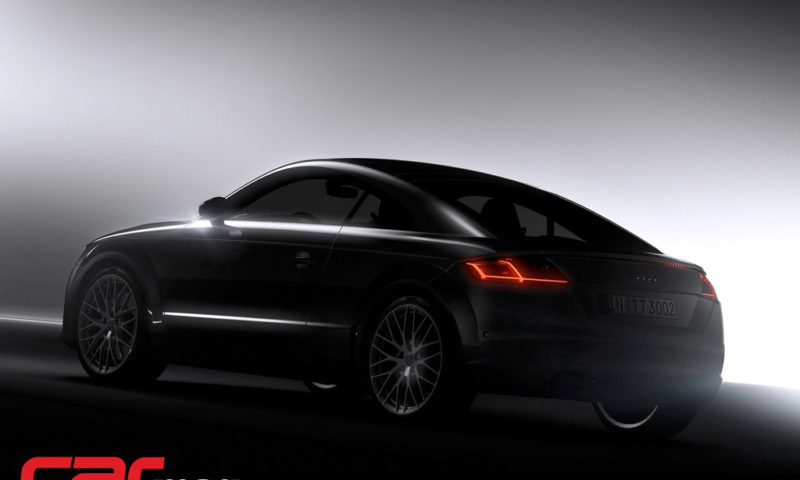 Audi TT Coupe Wallpaper