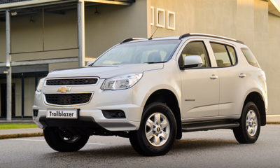 Chevrolet has updated its rugged TrailBlazer for 2014