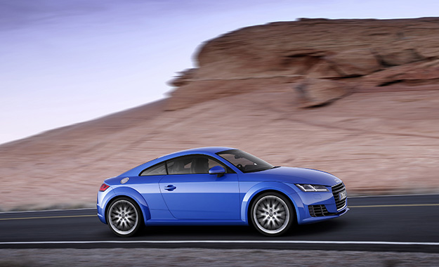 Audi TT Coupe profile image