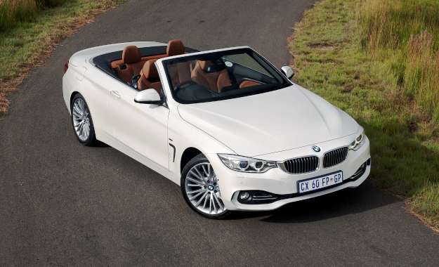 bmw 4 series convertible now in sa. Black Bedroom Furniture Sets. Home Design Ideas