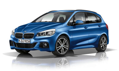 BMW 2 Series Active Tourer M Sport front three-quarter image