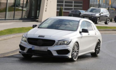 Mercedes-Benz CLA45 AMG Shooting Brake front