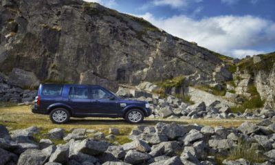 Land Rover Discovery 4 side