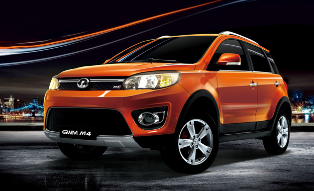 To date, probably the most sporty design we have seen from GWM.