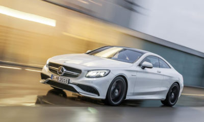 Mercedes-Benz S63 AMG Coupe front