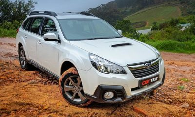 Subaru Outback 2,0 Diesel Lineartronic front view