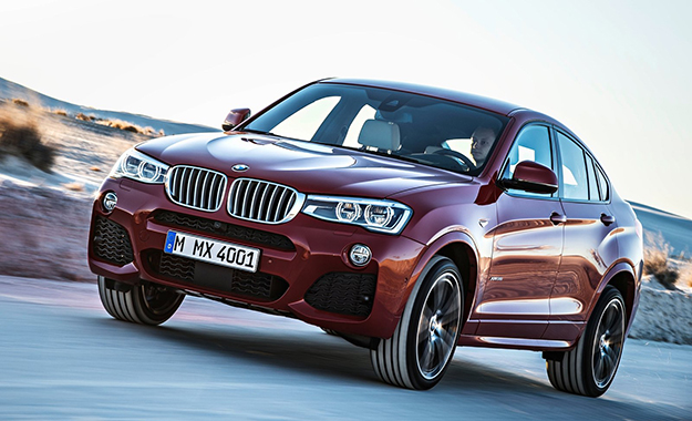 The X4 is marginally longer and lower than the X3