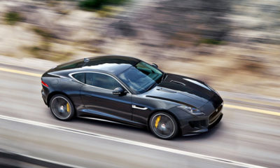 Jaguar F-Type Coupé Club Sport front