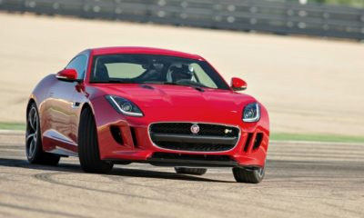 Jaguar F-Type Coupe.