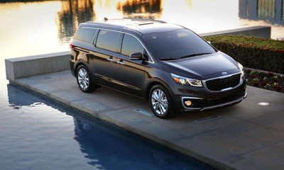 New Kia Sedona has been unveiled in New York.