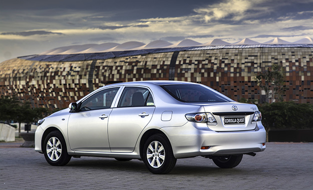 Toyota South Africa Launches Quest Sedan