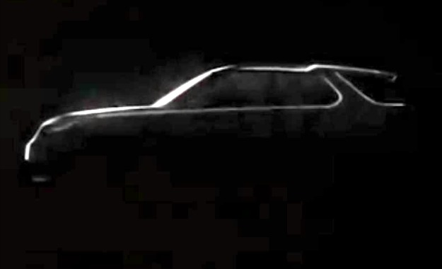 The Vision Concept boasts a sleeker profile than the current Discovery.